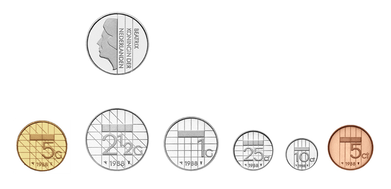 Guilder series dutch coins studio ninaber